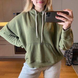 green aerie hoodie